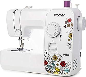 Brother JX17FE (Fantasy Edition) - Máquina de Coser Eléctrica, Portátil, 17 Puntadas de Costura, Fácil de Usar y Práctica