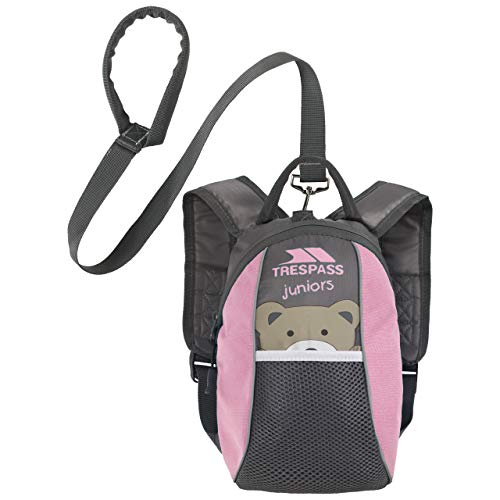 Baby Toddler Safety Backpack Walking Harness with Reins Pink