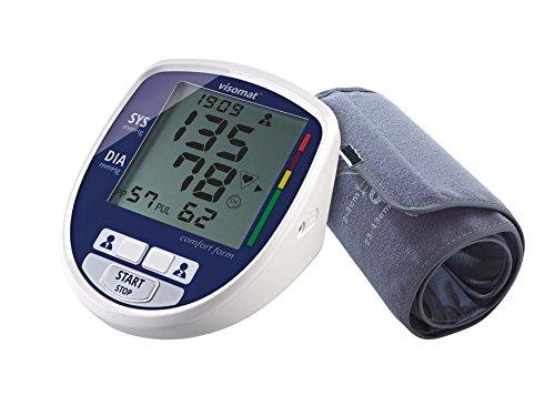 visomat comfort form - Blutdruckmessgerät Oberarm mit vorgeformter und bequemer Schallenmanschette