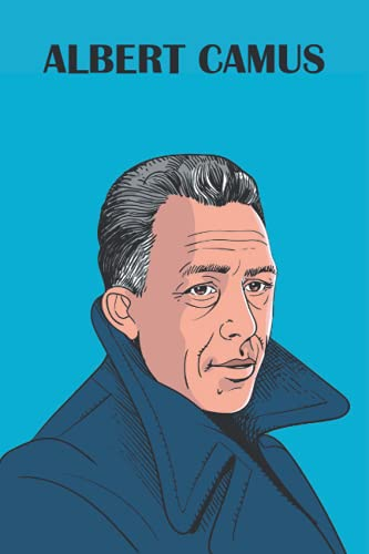 Albert Camus Notebook: 120 Pages of Ruled Lined & Blank Paper
