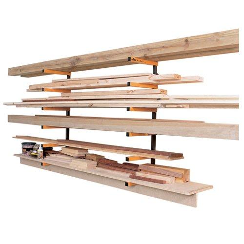 Triton 330190 Kragarmregal für Holzlagerung