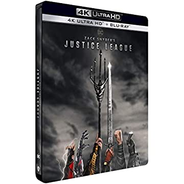 Zack Snyder's Justice League [4K Ultra HD + Blu-Ray-Édition boîtier SteelBook]