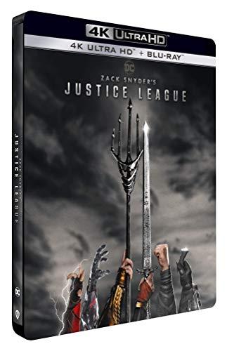 Zack Snyder's Justice League [4K Ultra HD + Blu-Ray-Édition boîtier SteelBook] [4K Ultra HD + Blu-ray - Édition boîtier SteelBook]