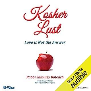 Kosher Lust audiobook cover art