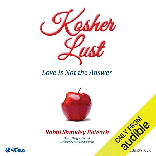 Kosher Lust audiobook cover art