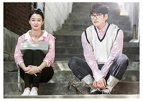 Zhengnengliang Serie de televisión clásica Coreana Está Bien no Estar Bien Carteles Pintura en Lienzo Decoración del hogar Carteles de Pintura de Pared Retro 50x70cm in J-1577