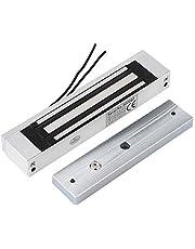 Elektromagnetisch slot, DC 12V 180kg Strong Force elektrisch magnetisch deurslot Toegangscontrole voor deurkastlade, magnetisch deurslot