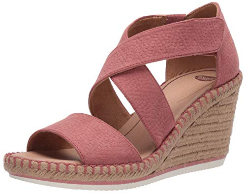 Dr. Scholl's Shoes Women's Vacay Ankle Straps Sandal, weathered Clay, 7.5