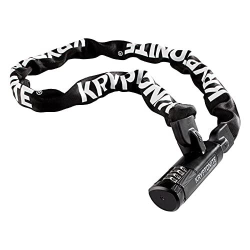 Kryptonite Keeper 790 7mm Chain Combo Bicycle Lock , Black