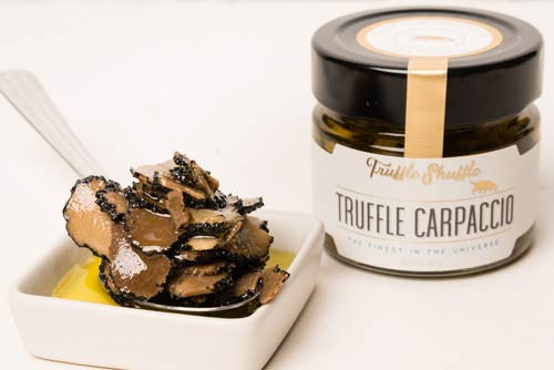 Truffle Shuffle Truffle Carpaccio