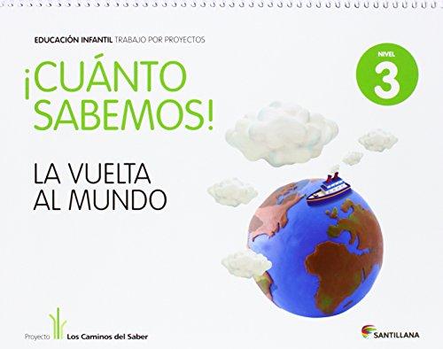 Cuánto Sabemos La Vuelta Al Mundo Educ Infantil Nivel 3. Trabajo Por...