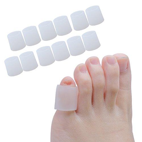 Sumifun Protezione Gel Dita, Silicone Protezione Dita Piedi 6 Paia per Stubbed Dita Dei Piedi
