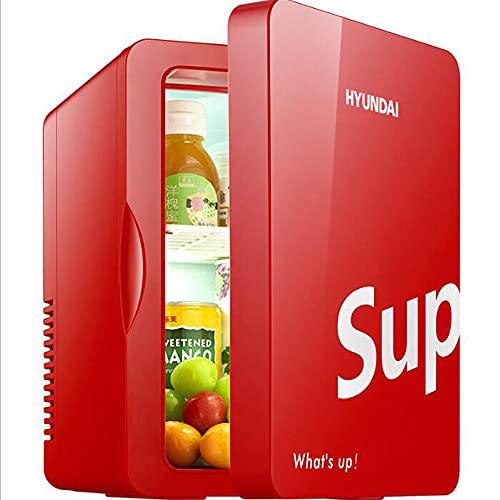 Los Fanáticos Retro 6L Para Refrigeradores Pequeños, Refrigeradores De Automóviles Pequeños Para Dormitorios Domésticos, Incluidos Los Enchufes Del Hogar,Oro