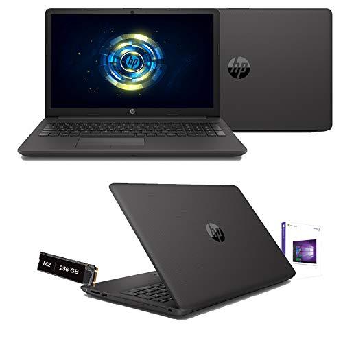 HP 255 G7 Computer portatile Nero 39,6 cm (15.6 ) 1366 x 768 Pixel AMD Athlon Silver 4 GB DDR4-SDRAM 256 GB SSD Wi-Fi 5 (802.11ac) FreeDOS