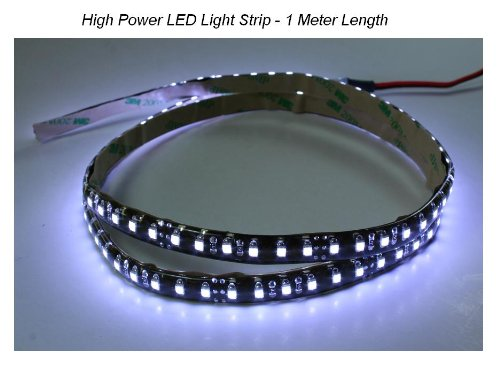 Pilotlights.net LED Light Strip HIGH Power White Color for Auto Airplane Aircraft Rv Boat Interior Cabin Cockpit LED Light