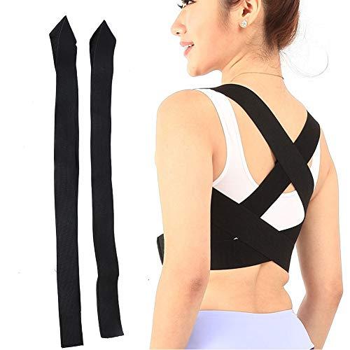 Raddrizzatore per la schiena della spalla, raddrizzatore per la schiena della spalla traspirante Tutore regolabile per la parte superiore della schiena che fornisce sollievo dal dolore dal collo(XXL)