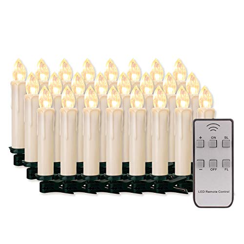 60 LED-Kerzen LED kabellos