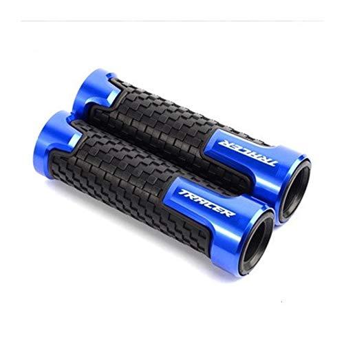 Manejas Manillar De Goma Antideslizante De Aluminio CNC Exquisito para Motocicleta De 7/8 Pulgadas para Yam┐AHA Tracer 900/700 GT MT09 MT-09 MT07 MT 07 MT-07 Puños de Manillar Motocicleta