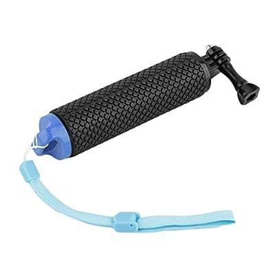 BFHCVDF Floating Grip Selfie Rod Buoyancy Camera Handle Mount Stick For GoPro Hero Blue
