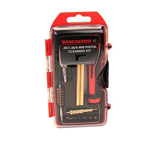 Winchester 14 Pc .38/9mm Pistol Ck&6pc Db Winchester Cleaning Kits Win9p