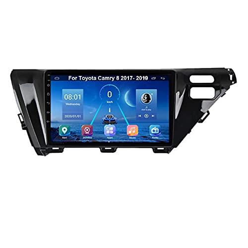 Android Autoradio 9 Pulgadas Coche Radio De Coche Pantalla Tactil Para Toyota Camry 8 2017-2019 Para De Coche Conecta Y Reproduce Autoradio Mit Bluetooth Freisprecheinrichtung