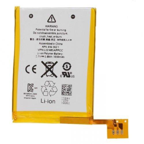 MPBATT Li-Polymer Battery for1030mAh 3.7V for iPod Touch 5