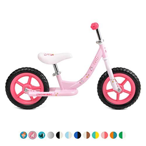 Retrospec 3367 Cub Kids Balance Bike No Pedal Bicycle; Unicorn Pink, One Size