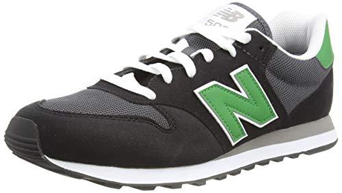 New Balance Herren 500 Varsity Pack Sneaker, Black, 44.5 EU