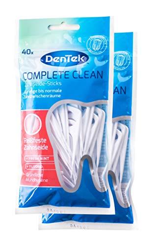 2x DenTek COMPLETE Clean Zahnseide Sticks