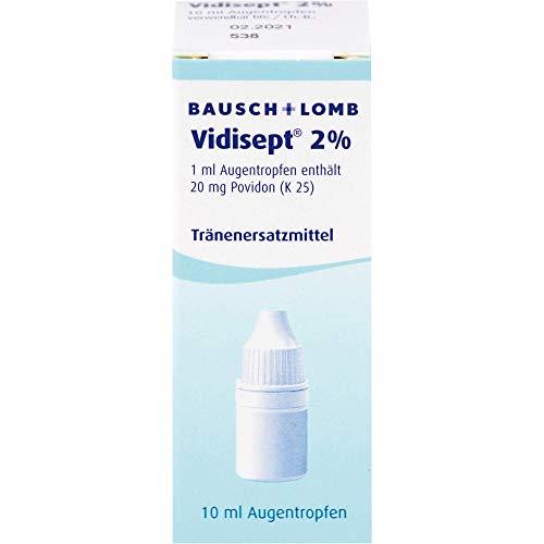 Vidisept 2% Augentropfen Tränenersatzmittel, 10 ml Lösung