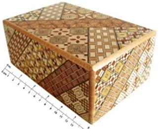 Yosegi Puzzle Box 5 sun 10 steps