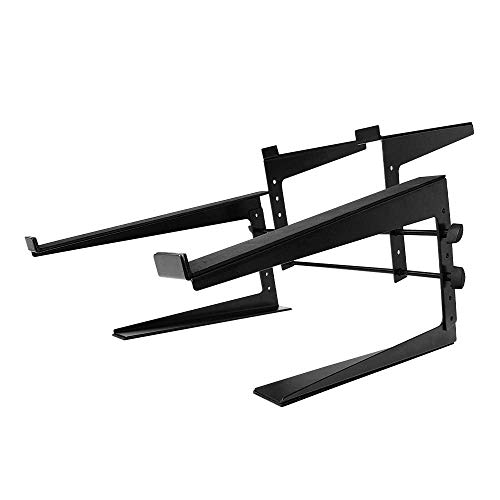 Thor CS002 Controller DJ Laptop Stand Dual Support Heavy Duty Black Metal