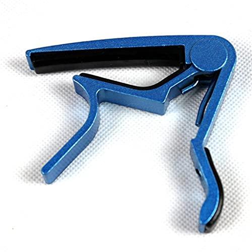 UXZDX CUJUX New Multicolor Capo Aluminum Diacritical Clip Guitar Capo Clamp Electric Acoustic Advanced Technology Accessories (Color : Blue)
