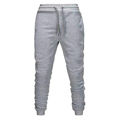 Pantalones Casuales para Hombre,Joggers Hip Hop Elastic Men Pantalones Casual Pantalones Sudaderas Hombres Gimnasio Músculo Suelto Fitness Oculto Cordón Entrenamiento Pantalones para Combate Joggin