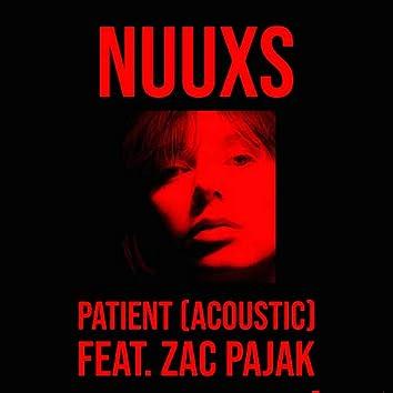 Patient (feat. Zac Pajak) [Acoustic]