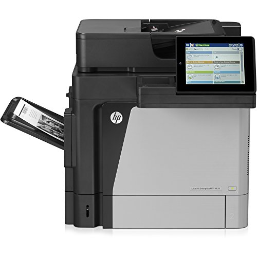 HP J7X28A LaserJet M630h Laser Multifunction Printer - Monochrome - Photo Print - Desktop - Copier/Printer/Scanner - 60 ppm Mono Print - 1200 x 1200 dpi Print - 8 inch Touchscreen - Automatic Duplex P