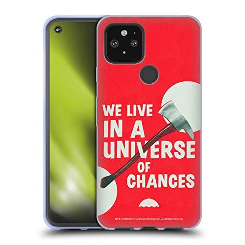 Head Case Designs Offizielle The Umbrella Academy Axt Staffel 2 Grafik Soft Gel Handyhülle Hülle Huelle kompatibel mit Google Pixel 5