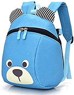 Bear Small Toddler School Backpack With Leash Children Kids Backpack Bag Mini Travel Bag for Baby Girl Boy 1-6 Years Old