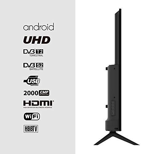"TV LED INFINITON 50"" 4K UHD 2000HZ - Smart TV - Android 9.0 - Reproductor y Grabador USB - HDMI - Modo Hotel miniatura"