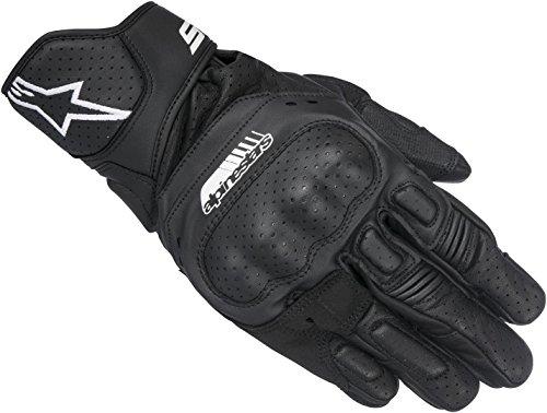 Alpinestars Handschuhe SP-5 Leder Motorrad Sporthandschuh schwarz Größe M /8