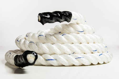 USA Made Training Ropes/Battle Ropes Poly Dac + Free Access to Online Video