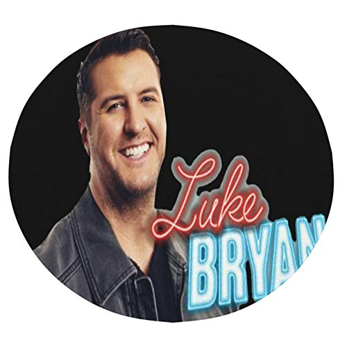 Luke-Bryan Blanket Adult Round Soft Lightweight 3D Tortilla Blanket for Men Kids Giant Funny Novelty Flannel Fleece Wrap Throw Blanket for Home Bed Couch Travelsmall