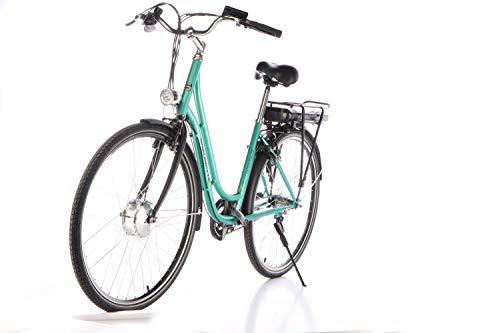 "41CIEoNnndL - SAXONETTE Fashion Plus 28"" Retro E-Bike 11,6 Ah 7-Gang Shimano Pedelec Elektrofahrrad"