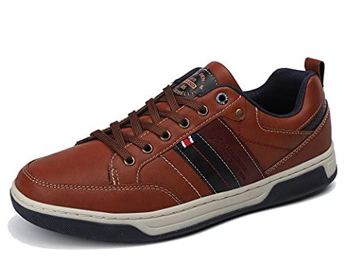 ARRIGO BELLO Zapatillas Hombre Zapatos de Casual Sneakers Vestir Deportivas Confort Jogging Transpirables Sneaker Talla 41-46