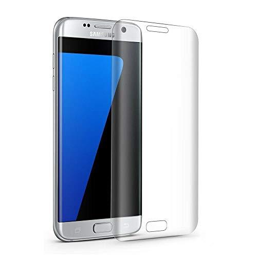 MuStone Galaxy S7 pellicola protettiva in vetro temperato, copertura completa S7, pellicola protettiva in vetro temperato curvo