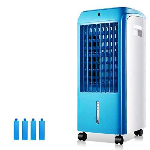 Mini Ventilador de Aire Acondicionado portátil Enfriadores evaporativos con deshumidificador y Ventilador Enfriador de Aire frío Simple Aire Acondicionado extraíble Ventilador de enfriamiento