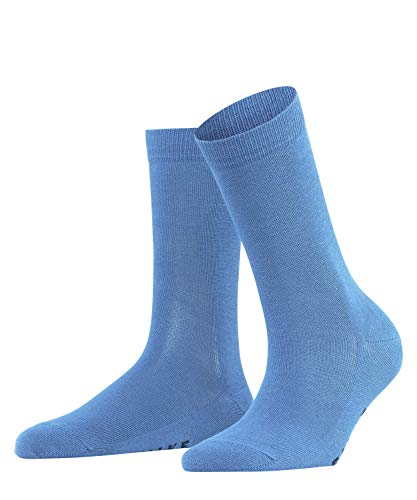 FALKE Damen Family W SO Socken, Blickdicht, blau (Sky Blue 6534), 35-38