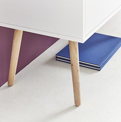 Germania 2-tlg. Garderoben-Set 8405-84 GW-Senja | Im skandinavischen Stil | 197 x 148 x 40 cm