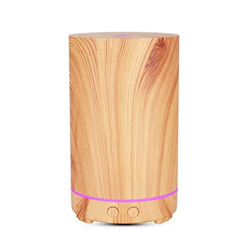 ZKHD Inicio De Silencio Inteligente Difusor De Aroma Hueco, Atomizador Ultrasónico, Que Se Utiliza para El Yoga, SPA, Dormitorio, Esencial Humidificador Aceite De Bebé,Light Color,C