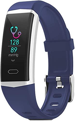 JSL Smartwatch Android Ios Impermeable Pantalla Táctil GPS Monitor de Ritmo Cardíaco Medidor de Presión Arterial Podómetro Rastreador de Actividad Rastreador de Sueño